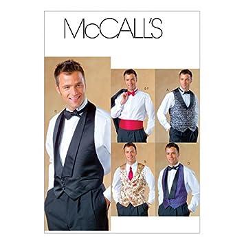 McCall \'s Schnittmuster 4321 Herren Weste Größen: XL-XXL: Amazon.de ...