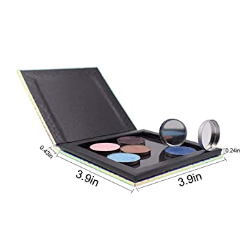 Beauty & Health Beauty Essentials Diy Empty Magnetic Palette Refill Eyeshadow Blush Easy Carry Beauty Pigment Makeup Cosmetic Storage Tools High Quality Colorful