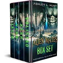 Alien Mates: The Complete Box Set (Books 1-4): Paranormal SciFi Romance