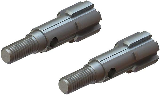 2 ARRMA AR310400 Rear Stub Axle 4x5x44mm