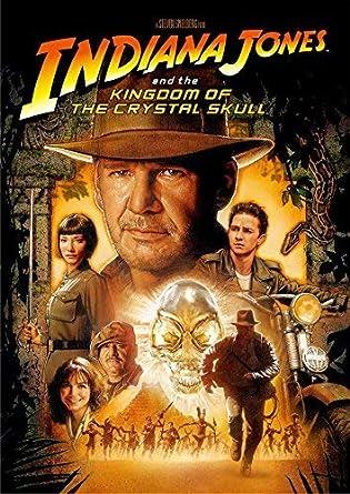 Harrison Ford - Indiana Jones And The Kingdom Of The Crystal Skull Edizione: Giappone Italia DVD: Amazon.es: Cine y Series TV