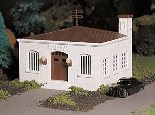 Review Bachmann Trains Police Station