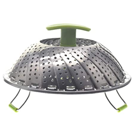 Olla a presión de acero inoxidable con mango plegable para cocina ...