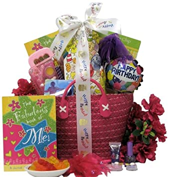 Amazon Great Arrivals Kids Birthday Basket For Girls Ages 9