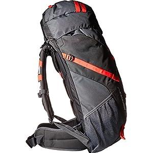 JanSport Unisex Katahdin 50L Greytar/Forgegrey Backpack