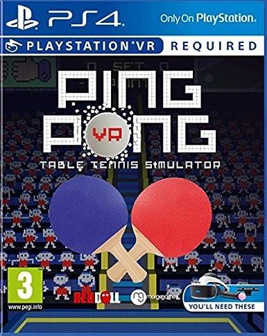 Ping Pong VR: Amazon.es: Videojuegos