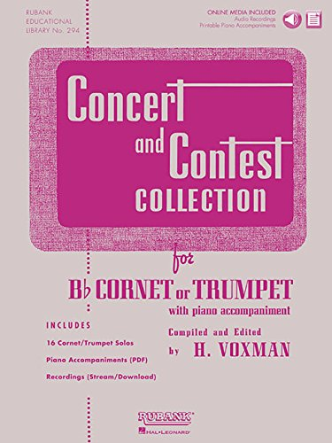 Rubank Concert And Contest Collection Trumpet/Cornet Bk/CD