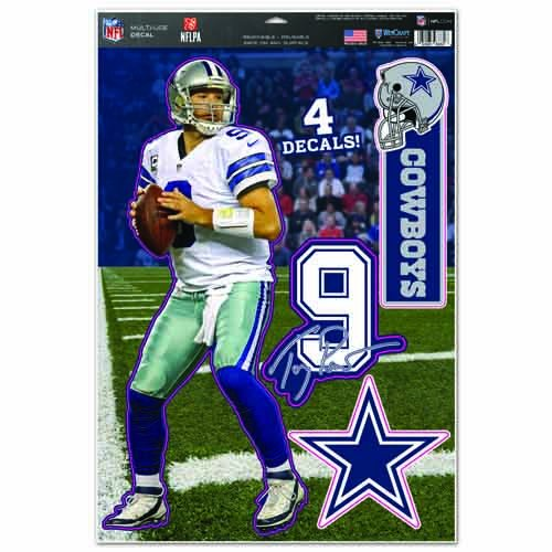 Tony Romo Wall (NFL Dallas Cowboys Tony Romo Multi-Use Decal Sheet, 11