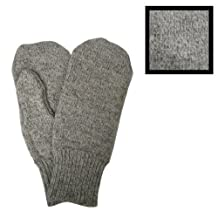 Men's Gray Wool Mittens Style 2015 by Duray by Duray