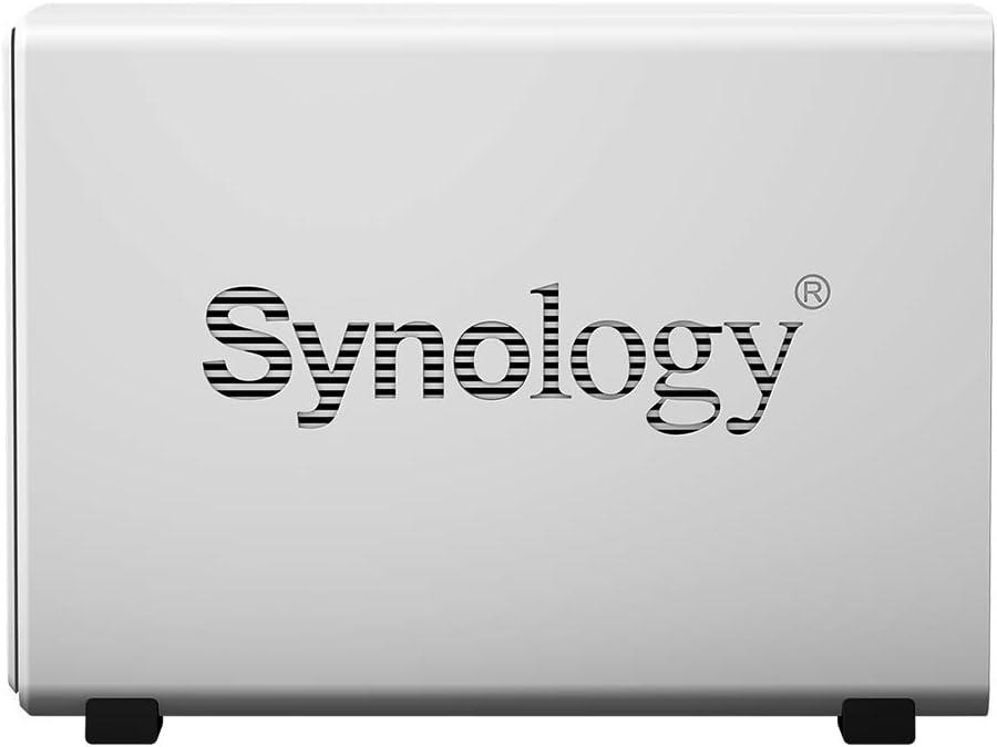 Synology DiskStation DS120j NAS Server 512MB DDR3L Marvell Armada 3700 88F3720 4TB SATA Synology DSM Software