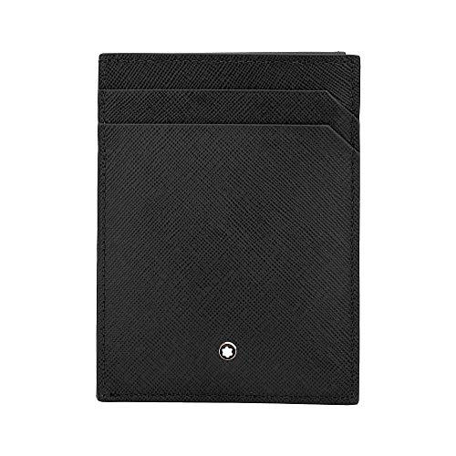 Montblanc Sartorial Men's Small Leather Pocket Card Holder 4CC with ID 116340