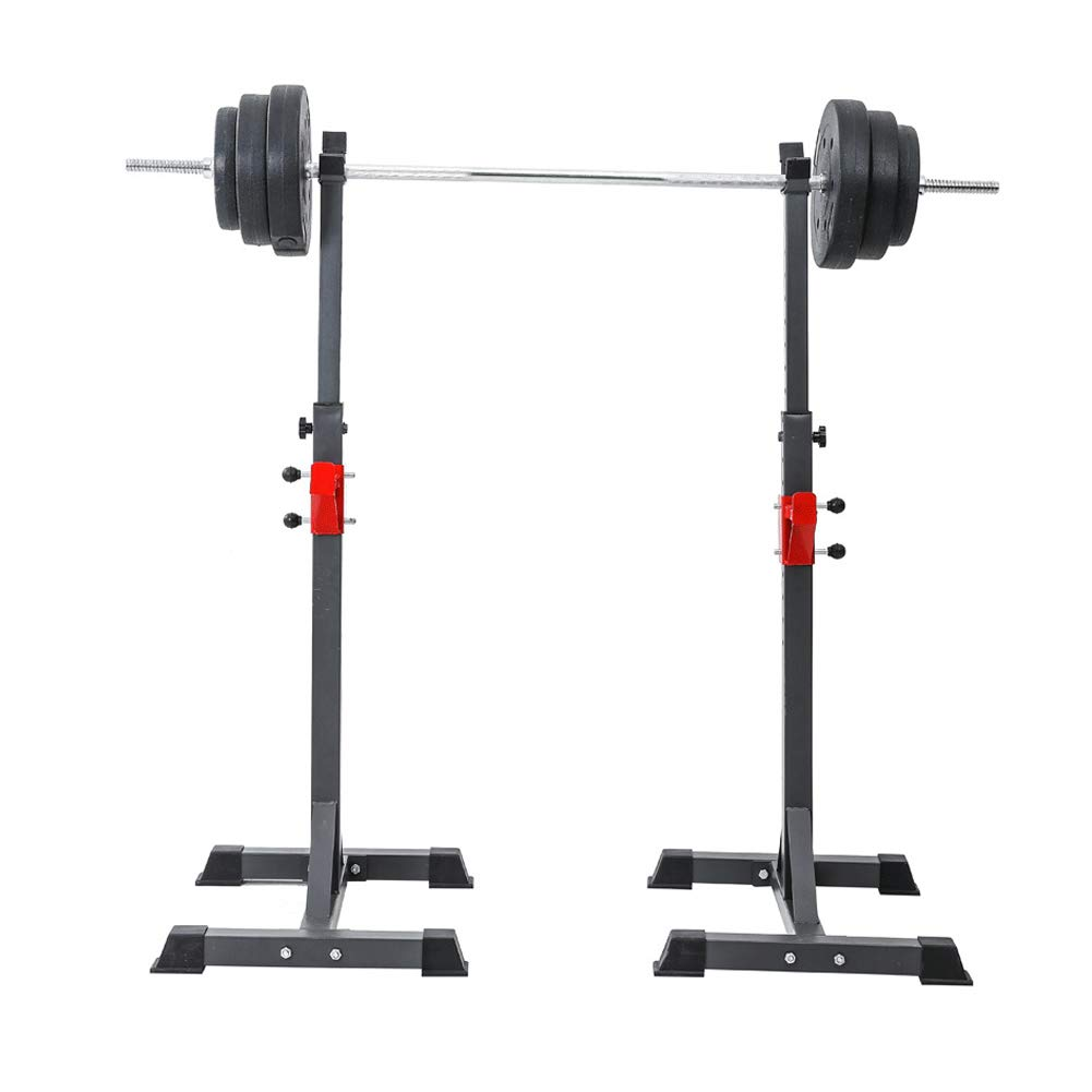 EFGS Adjustable Weight Lifting Stand, Portable Squat Rack, Sturdy Durable Barbell Stand by EFGS