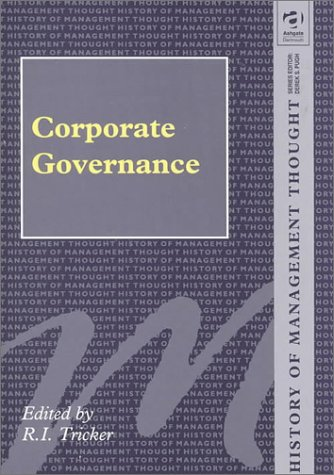 Download Corporate Governance (History of Management Thought) pdf epub