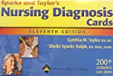 Nursing Diagnosis Cards, Sparks, Sheila M. and Taylor, Cynthia M., 1582558949
