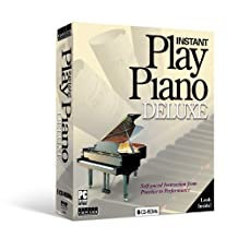 Instant Play Piano Deluxe CD ROM