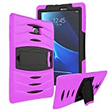 KIQ Galaxy Tab A 8.0 2015 T350 Case [Does NOT FIT 2017(T380) 2018(T387)] Shockproof Heavy Duty Case Cover Full-Body Samsung Galaxy Tab A 8.0 SM-T350 SM-T355 (Armor Pink)