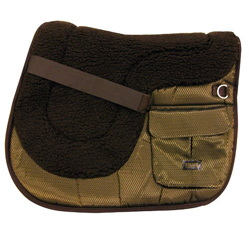 Intrepid International Comfort Plus イングリッシュトレイルポケットサドルパッド   B008OAXSFM