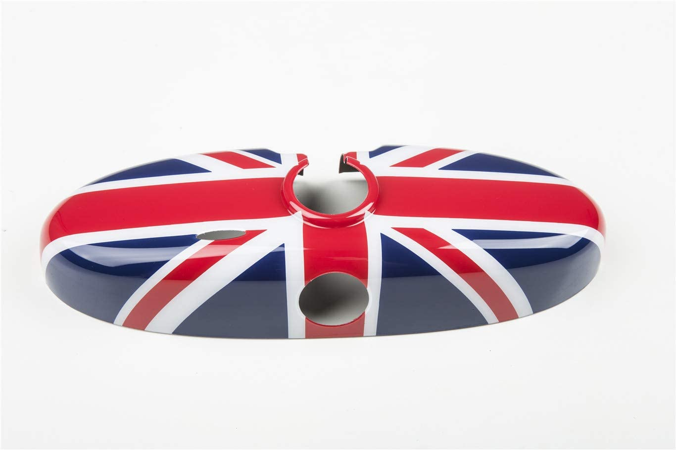 HDX Inner Rearview Room Mirror Cover Trim Cap ABS for Mini Cooper R55 Clubman R56 Hatchback R57 Covertible R58 Coupe R59 Roadster R60 Countryman R61 Paceman (Union Jack Blue)