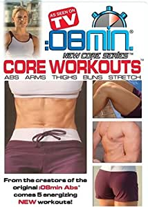08 Min. Core Workouts (Arms, Abs, Thighs, Buns, Stretch)