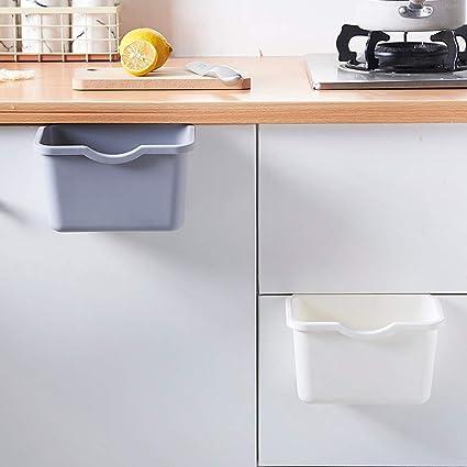 Multifunktionsbehälter,Rifuli®zum Einhängen Bio Abfallbehälter Entsorgung  Küchenschrank-Tür-hängender Abfall-Mülleimer-Abfall-Behälter