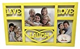 Live Laugh Love Picture Frame (Yellow)
