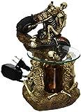 Koehler 15256 9 inch Skeleton Doom Rider Oil Warmer