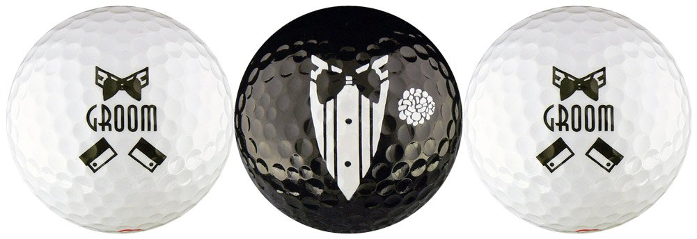 Groom Wedding Variety Golf Ball Gift Set