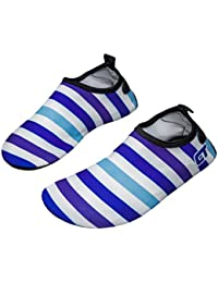Boys Lightweight Water Shoes Soft Barefoot Shoes...