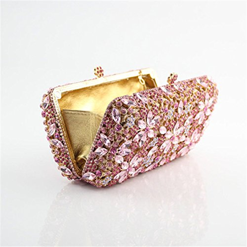 Fleur Pour Diamant Pink Sac De Mode Main Sac Soirée Femme De à 8q8EPt