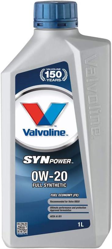 B B Valvoline Motoröl Motorenöl Motor Motoren Öl Motor Engine Oil Benzin Diesel Flüssiggas Synpower Fe 0w 20 1l Auto