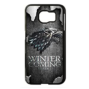 Game Of Thrones Black Phone Case for Samsung S6