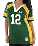 "Aaron Rodgers Green Bay Packers Women's Majestic NFL ""Drafted"" Jersey Shirt"