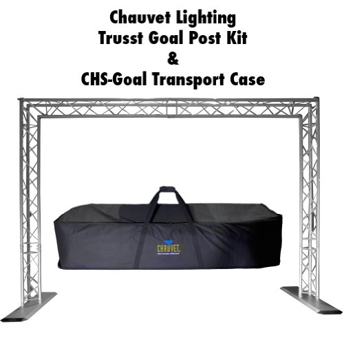 Chauvet Trusst QT-GOAL POST KIT Mobile DJ Portable Lighting Truss System w/ Case