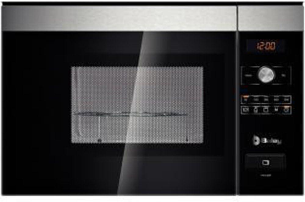 Balay 3WG665NIM - Microondas (Integrado, 25 L, 900 W, Giratorio ...