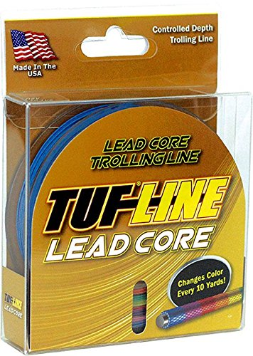 Tuf Line Lead Core 200 yd Fishing Line, Metered, 27 lb