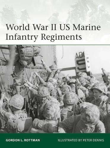 World War II US Marine Infantry Regiments (Elite) by Elite - 20th Century - World War II