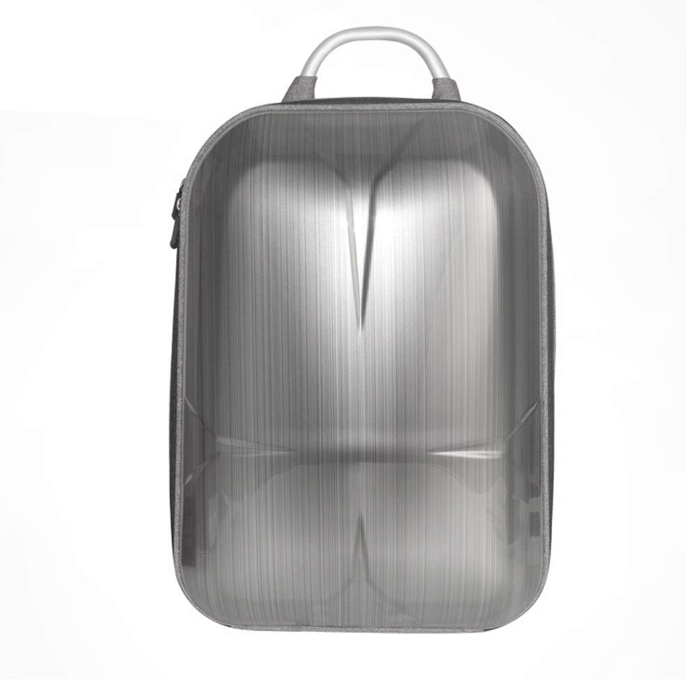 Zhaowei ハードシェルバックパックバッグ 転倒防止 防水 耐衝撃 キャリーケース DJI Mavic 2用 30x14x45cm シルバー Zhaowei B07P5SQZJC シルバー(Silver)