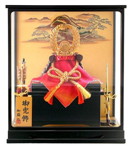 五月人形 兜 ケース 飾り 加越作 御兜飾 tokyo-k-toku B00J3MUAT2