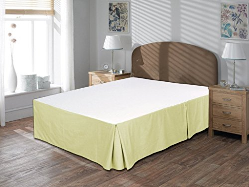 Offer-sale By Shopping-Cart 350-Thread-Count 100% Egyptian Cotton Short King 1 Piece Bed Skirt 15