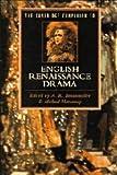The Cambridge Companion to English Renaissance Drama, , 0521346576
