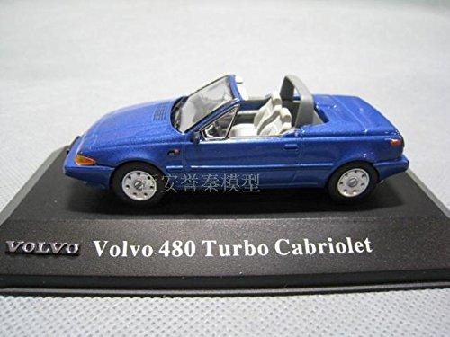 Amazon.com : ATLAS 1/43 VOLVO Volvo 480 TURBO CABRIOLET alloy models : Baby
