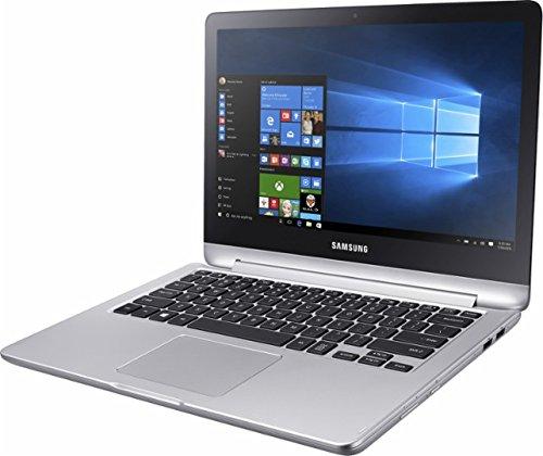 "Samsung Spin 2-in-1 13.3"" Full HD Touchscreen Flagship High Performance Laptop PC | Intel Core i5-7200U | 12GB RAM | 1TB HDD | HDMI | Bluetooth | Windows 10 | Platinum Silver 3"