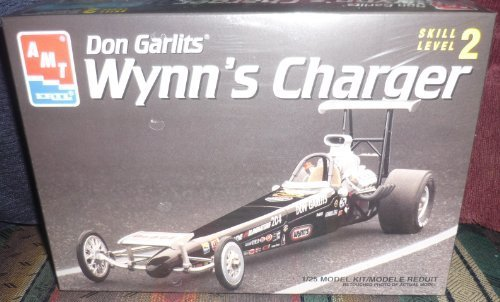 #6438 AMT/Ertl Don Garlit's Wynn's Charger 1/25 Scale Plastic model kit,needs assembly by AMT