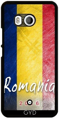 Funda para Htc U11 - Bandera De Rumania by Julien Kaltnecker