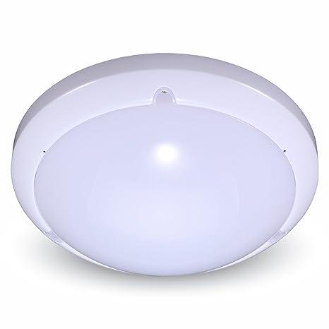 Plafón LED 16 W con sensor de movimiento de microondas color blanco V-TAC vt