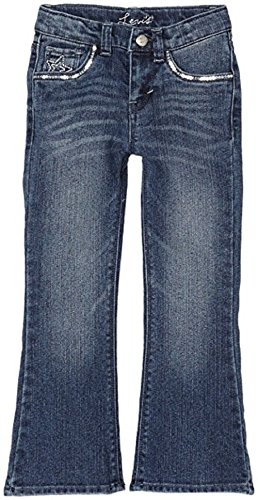 Levi's? Kids Girl's Claudia Flare Jean (Little Kids) Uncrushed 6 (Little Kids)