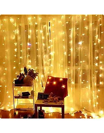 Ever Smart Curtain Lights Usb Powered  Leds Warm White String Lights For Bedroom