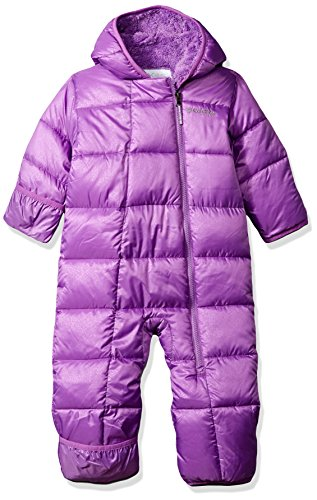 (Columbia Baby Boys' Frosty Freeze Bunting, Crown Jewel Snowflake Emboss, 18/24)