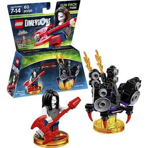 Lego Dimensions Starter Pack + Adventure Time Finn The Human Level Pack + Jake The Dog Team Pack + Marceline The Vampire Queen Fun Pack for Xbox One or Xbox One S Console by WB Lego (Image #4)