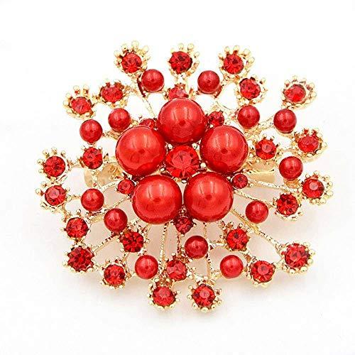 Flower Brooch For Women Fashion Brooches Pins Wedding Rhinestone Crystal Jewelry | Pattern - - Cameo Brooch Wedgwood